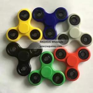 Quality Wholesale Torqbar finger spinner Pepyakka hand spinner Plastic 4 Bearings fidget spinner from ANQUEUE for sale
