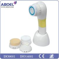 Waterproof Electric Facial Cleansing Brush , Dirt And Pore Cleaner CE FCC ROHS Standard