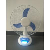 CE Certificate AC Table Fan 45W Blue Color 3 Level Control With 1250 RPM for sale