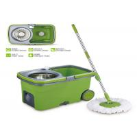 Lightweight Commercial 360 Spin Mop As Seen On Tv Mop And Bucket SS Pole Manufactures