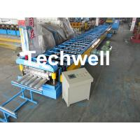 Galvanized Steel Floor Deck Roll Forming Machine for Making Steel Structure Floor Decking Panel Manufactures