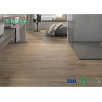 SPC Rigid Core Vinyl Flooring No Soluble Volatiles With UV Protective Layer Manufactures