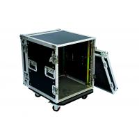 22U Amp Rack Case With 9mm Plywood , Fireproof Rack Server Case Size Customized Manufactures