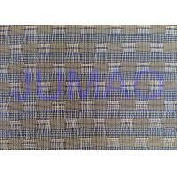 Glass Laminated Woven Metal Wire Mesh Fabric For Art Design And Wire Glass Manufactures