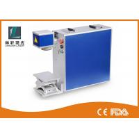 Lamp Bulb Metal Laser Engraver , 200 * 200MM Marking Area Laser Engraving Equipment Manufactures
