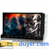 """Road Terminator - 2 DIN In Dash Car DVD Player with 7"""" Detachable Android 2.3 Tablet Panel Manufactures"""