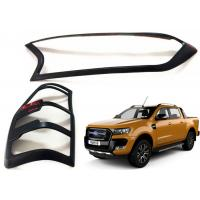 China Head Lamp Tail Lamp Bezels and Handle Garnish for 2016 2018 Ford Ranger T7 on sale