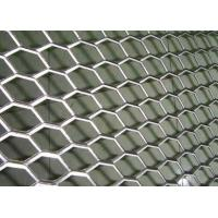 Rhombus Hole Expanded Metal Mesh Hot Dipped Galvanized Surface Thickness 4mm Manufactures
