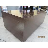 film faced plywood with kangaroo brand , POPLAR CORE, WBP MELAMINE GLUE, BROWN  PRINTED FILM. 18MM*1220MM*24 Manufactures