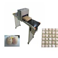 Poultry Agriculture Egg Marking Equipment , Batch Code Printing MachineFor Eggs Manufactures