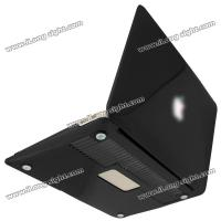 China 2013 Transparent hard cover case For Macbook Air 11.6 crystal case for macbook - Black Clear on sale