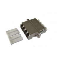 China High Return Loss ROHS LC Quad Fiber Optic Adapter on sale