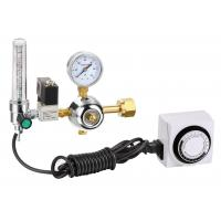 50 PSI Compressed Gas Pressure Regulator , Automatic CO2 Gas Pressure Regulator Manufactures