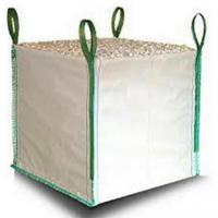 white one ton pp woven gravel bulk bag for builder. Black Bedroom Furniture Sets. Home Design Ideas