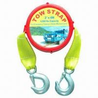 Heavy-duty Tow Strap/Towing Strap, BS of Tow Strap not More Than 5000lbs Manufactures
