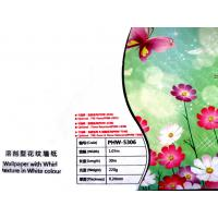 PVC Eco Friendly Wallpaper Solvent , Inkjet Printing Media Manufactures