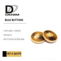 Polyester Bulk Clothing Buttons 4 Holes Colorful Assembed Combination Button Manufactures