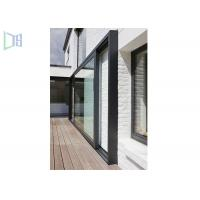 Large Lighting Area Aluminium Glass Sliding Doors With Chinese Top Brand Accessory Manufactures