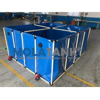 1000L flexible    Fish farming tank in door and out door using water storage tank Manufactures