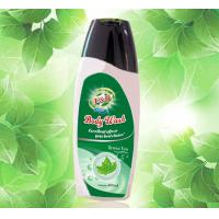 Refreshing SPA Perfumed Shower Gel for Lady , Green Tea Bath and Body Products Manufactures