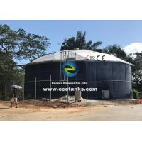 Buy cheap Dark Green Enamel Bolted Steel Tanks Sizes Range From 50m3 To 20000m3 1500V from wholesalers