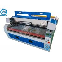 Auto - Feeding Laser Cutting Machine For Fabric & Leather With Dual / Double Head Manufactures