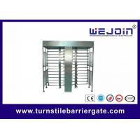 IC , ID , magcard , bar code Full Height Turnstile security systems Manufactures