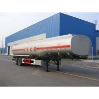 30000L-2 Axles-Carbon Steel Monoblock Tanker Semi-Trailer for Fuel and Water Manufactures