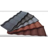 China Colorful Stone Coated Metal Building Roof Tiles tone Coated Aluminum Roof Tile on sale