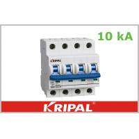10 ka MCB Three Pole Mini Circuit Breaker , High Short Circuit Capacity Manufactures
