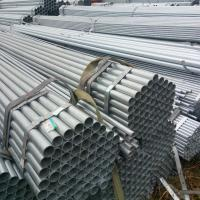 ASTM A53 / BS1387 / EN39 Standard Hot Dip Galvanized Steel Tuping GI Pipe Round Shape Manufactures