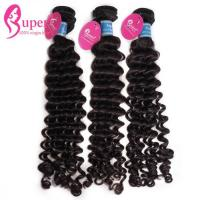 China Discount High Quality Brazilian Remy Hair Curly Bundles Extensions on sale