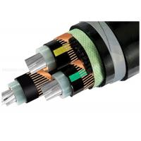 China High Voltage Armoured Electrical Cable Three-Core XLPE Insulation Copper Wire Shield STA Underground Al Cable on sale