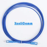 Anti - Rodent Fiber Optic Patch Cord  , SC To SC Fiber Patch Cable High Reliability Manufactures