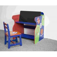 Quality Wooden Sports Themed Drawing - Study Desk Chair Set For Toddler for sale