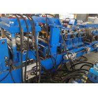 Low Noise Steel Frame CZ Purlin Roll Forming Machine , Roll Forming Equipment Manufactures