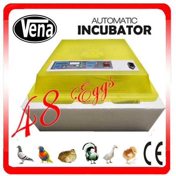 Quality Best price quail egg incubator VA-48 mini egg incubator for sale for sale