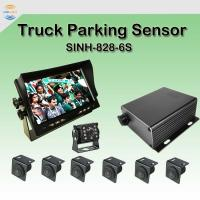 China 7 Monitor Car CCD 4PIN Reversing Camera 90° 900TVL Ultrasonic Parking Sensors on sale
