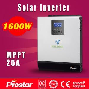 Prostar PowerSolar 24V 1600 watt solar panel inverter for home solar system Manufactures
