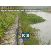 Hexagonal Mesh PVC Gabions with Hot Dip Galvanized Wire Double Twisted Mesh Manufactures