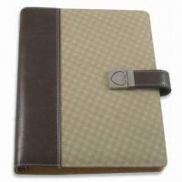 Organizer with 6 Rings Binder, Cover Measures 8.5 Inches, Made of PU Leather Manufactures