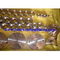 ANSI B16.5 Welding Neck Stainless Steel Forged Flanges For Petroleum , Construction Manufactures