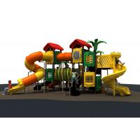 Quality Lldpe Plastic Kids  Outdoor Playground Equipment With 1090*770*480cm for sale