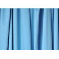 Needle Two Technology One Side Brushed 100 Polyester Peach Skin Microfiber Fabric 1.6m * 170gsm Manufactures