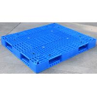 Eco Friendly HDPE Plastic Pallets / Stackable Plastic Pallets With Reinforced Rims Manufactures