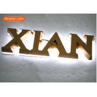 Backlit Mini Acrylic 3D LOGO LED Channel Letters For Indoor Signage Manufactures
