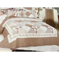 Vintage Style Country Bedding Sets With 100% Eco Friendly Polyester Material Manufactures