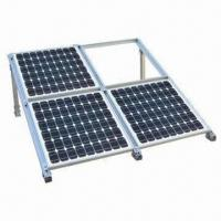 95 to 270W PV Solar Module for Solar Roof System, Home Use, with Aluminum Frame and Brackets Manufactures