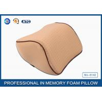 High Density Memory Foam Auto Car Neck Support Pillow With Washable Breathable Cover Manufactures