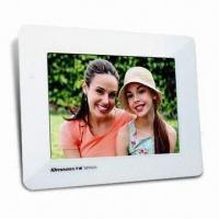 Digital Photo Frame with 256MB Flash Memory and 8-inch LCD Manufactures